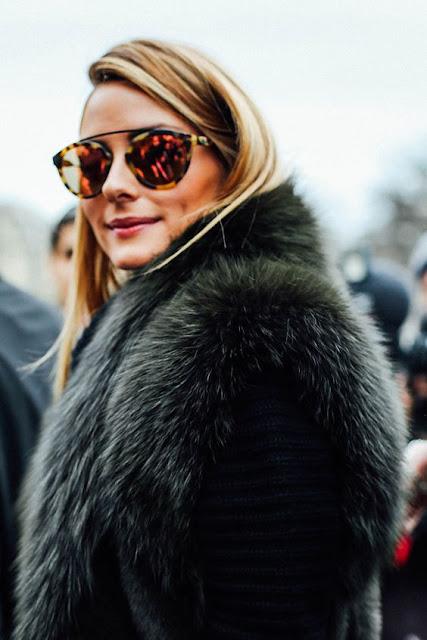 Óculos de sol tendência 2016 das celebridades Olívia Palermo