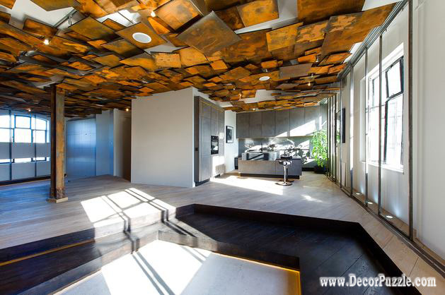 Unique ceiling design ideas 2018 for creative interiors