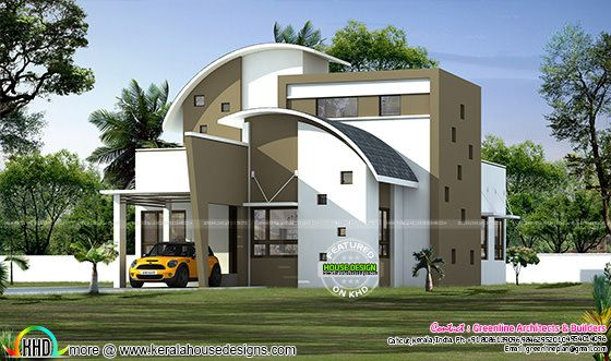 superb single floor house design