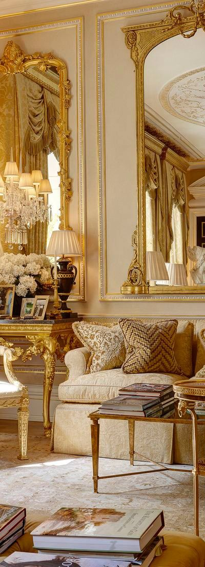 gold home decoration idea