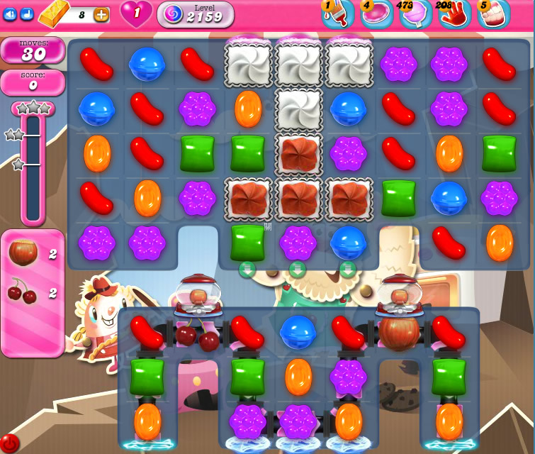 Candy Crush Saga level 2159