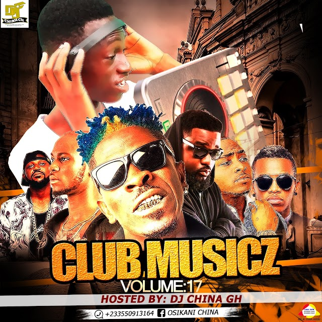 Upcoming release -Club Music's volume 17 hosted by Dj China