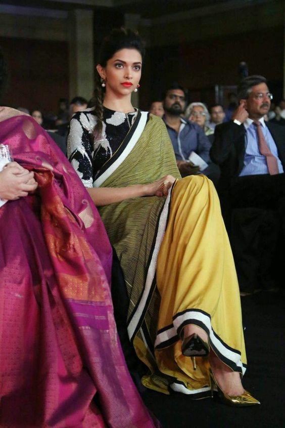 Deepika's Top 10 High Neck Saree Blouse Designs | Indian ...