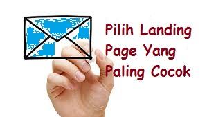 Pilih Landing Page yang Cocok bagi Email Marketing