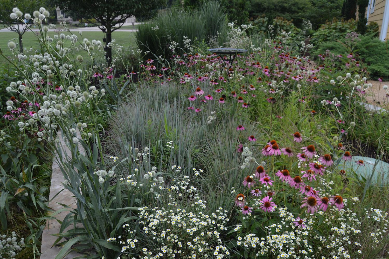 A Nadia Malarky designed garden in Columbus
