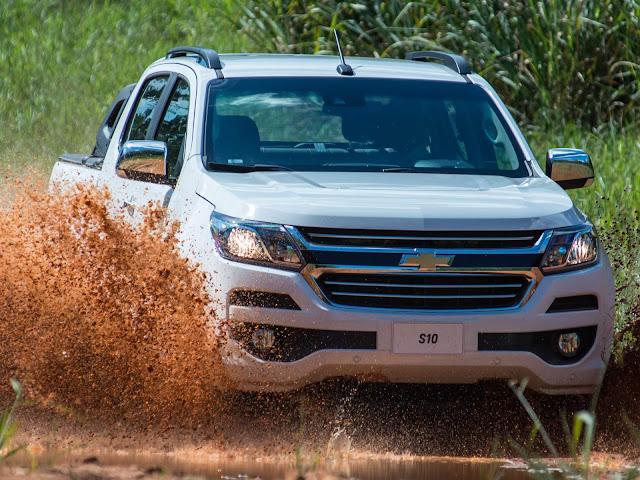 Nova Chevrolet S-10 Flex 2018 Automática