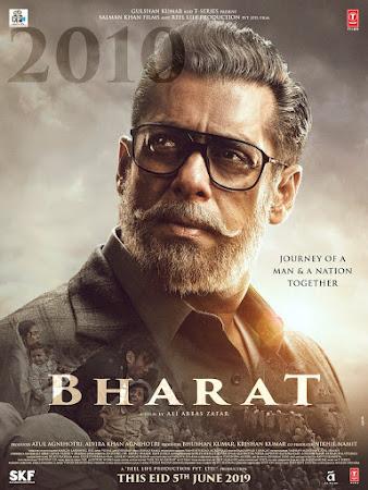 Poster Of Hindi Movie Bharat 2019 Full HD Movie Free Download 720P Watch Online