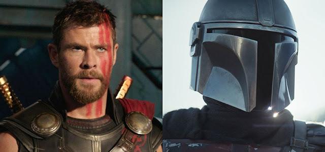 'Thor: Amor e Trovão' irá adotar a Tecnologia VFX de 'O Mandaloriano'