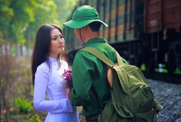 Bài thơ chế vui về người lính nhập ngũ xa người yêu