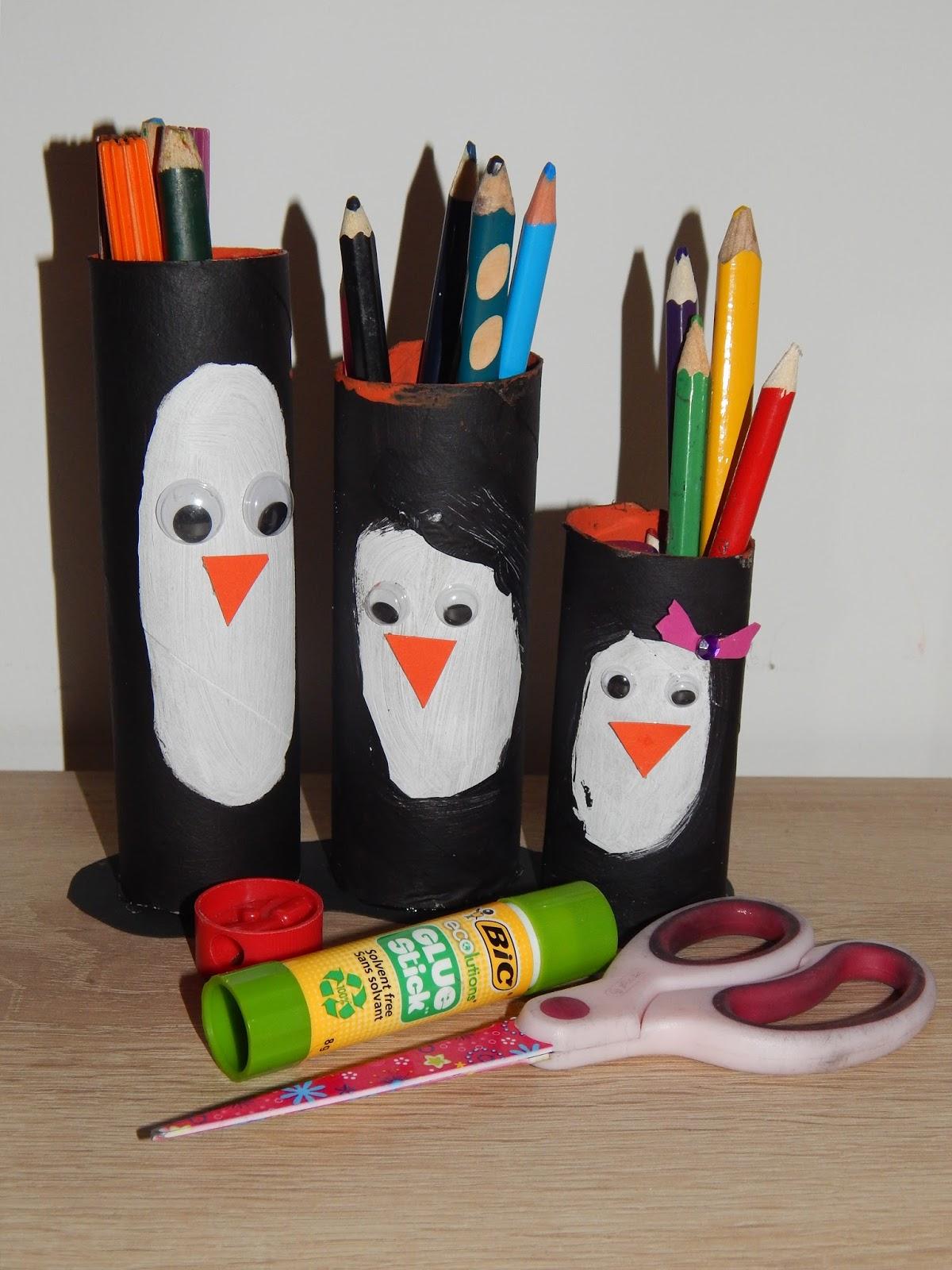 Familie Und Mehr Bastelidee Zum Welt Pinguin Tag