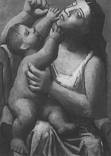 Пикассо Мать и дитя 1921 г.