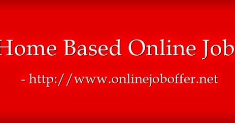 Home Based Offline Data Entry Jobs Without Investment