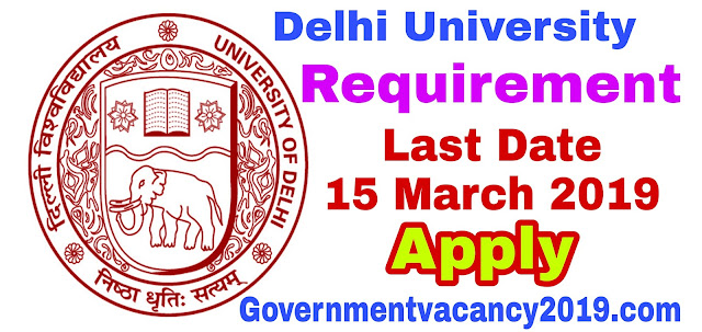 Indian College, Delhi University 2019: Application for MTS, Librarian and other posts - Gov Job 2019 governmentvacancy2019.com