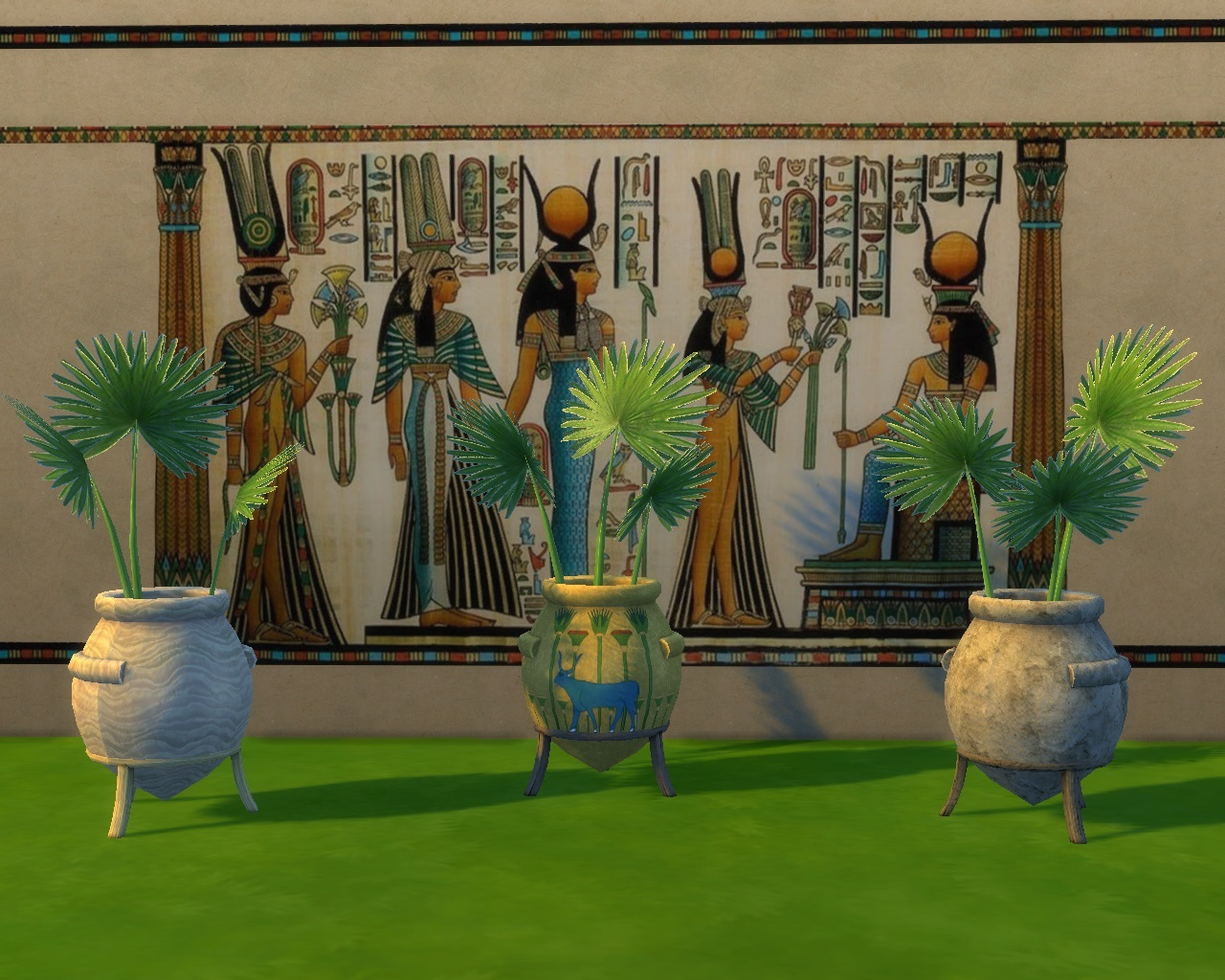 My Sims 4 Blog TS3 Ancient Egypt Conversions By Mara45123