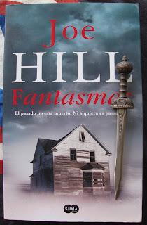 Portada del libro Fantasmas, de Joe Hill