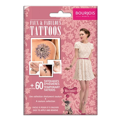 Test Faux & Fabulous Tattoos Bourjois (Miss couture)