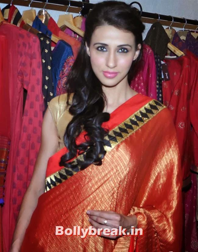 Alesia Raut, Mandira Bedi & Kajal Aggarwal at HUE Store Launch