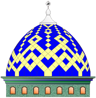 gambar kubah masjid moderen