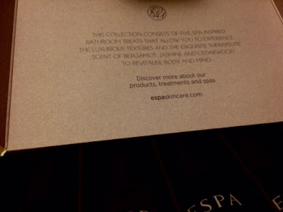 Bath, Body, Skincare, Espa, Luxury, Set, Spa