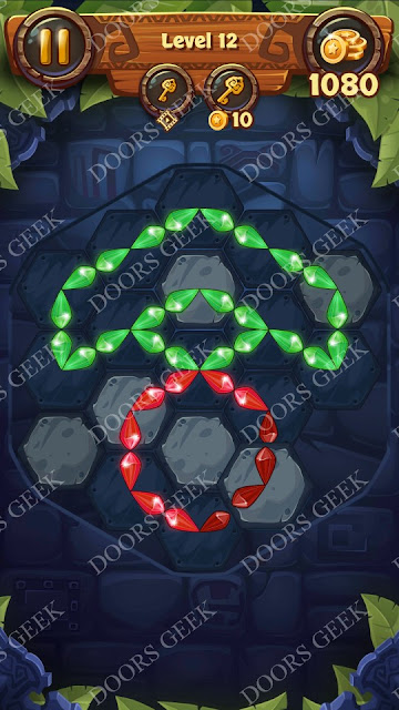 Gems & Magic [Emerald] Level 12 Solution, Walkthrough, Cheats