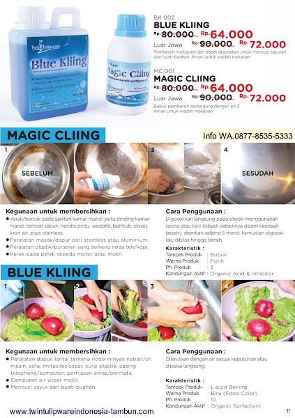 Promo Diskon Maret 2018, Magic Cliing, Blue Kliing