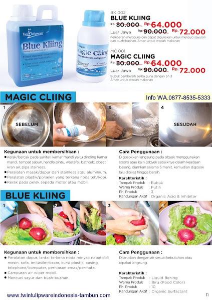 Promo Diskon Maret 2018, Magic Cliing, Blue Kliing