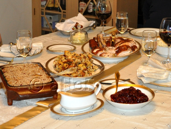 Our Thanksgiving Feast 2014