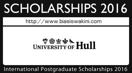 International Office Postgraduate Scholarship 2016
