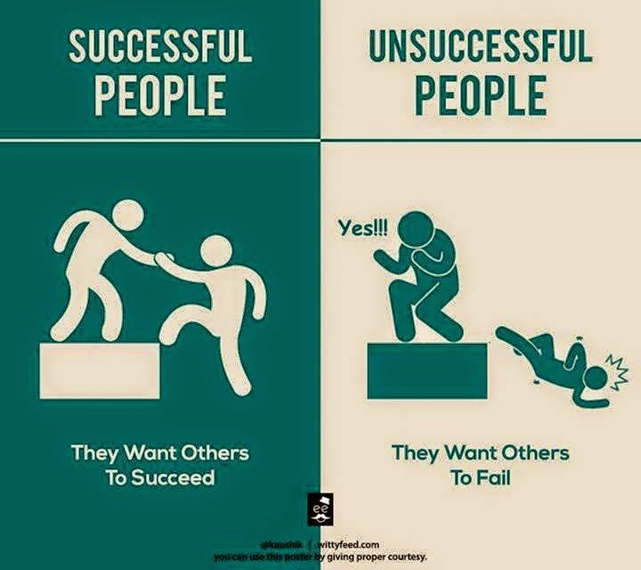 1 Successful People Want Others to Succeed & Unsuccessful People Want Others to Fails