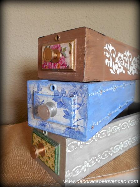 ideías para reciclar gavetas