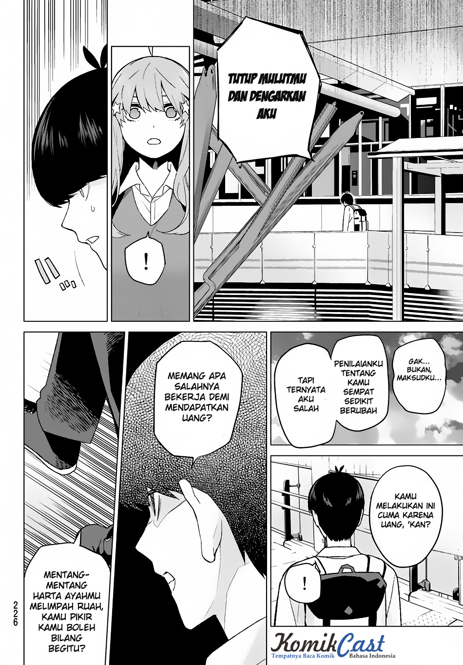 Komik Go-Toubun No Hanayome Chapter 16