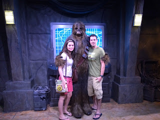 star wars launch bay chewbacca