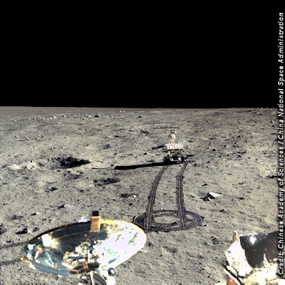 Incredible Images of The Moon's Surface Released By China