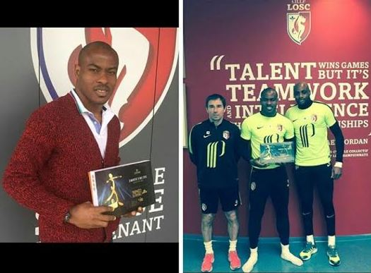Lille Osc and ex Super Eagles Goalkeeper Vincent Enyeama won Ligue 1 team of the year award for best Goalkeeper