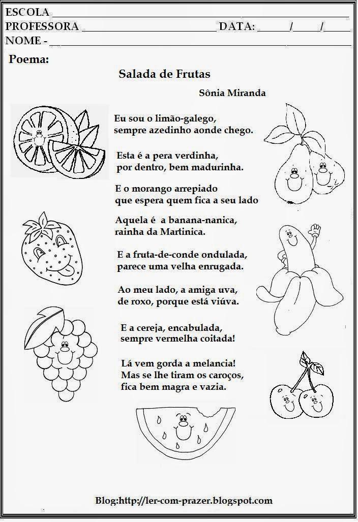 Fabuloso BorboLETRAScriativas: Alimentação saudável-atividades WN12