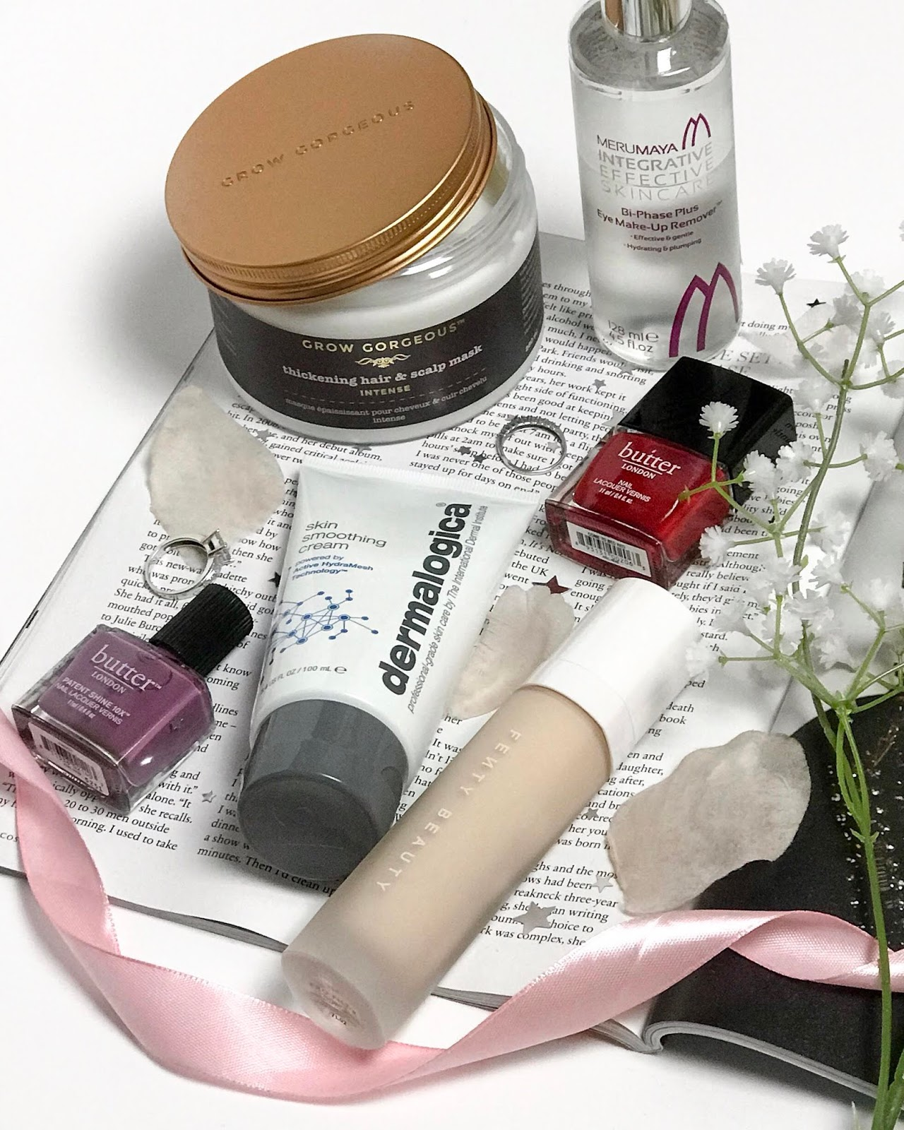 the new beauty bits i'm currently testing blog post