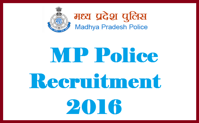 MP Vyapam Recruitment 2016 Apply Online for 14283 Constable, Head Constable Posts