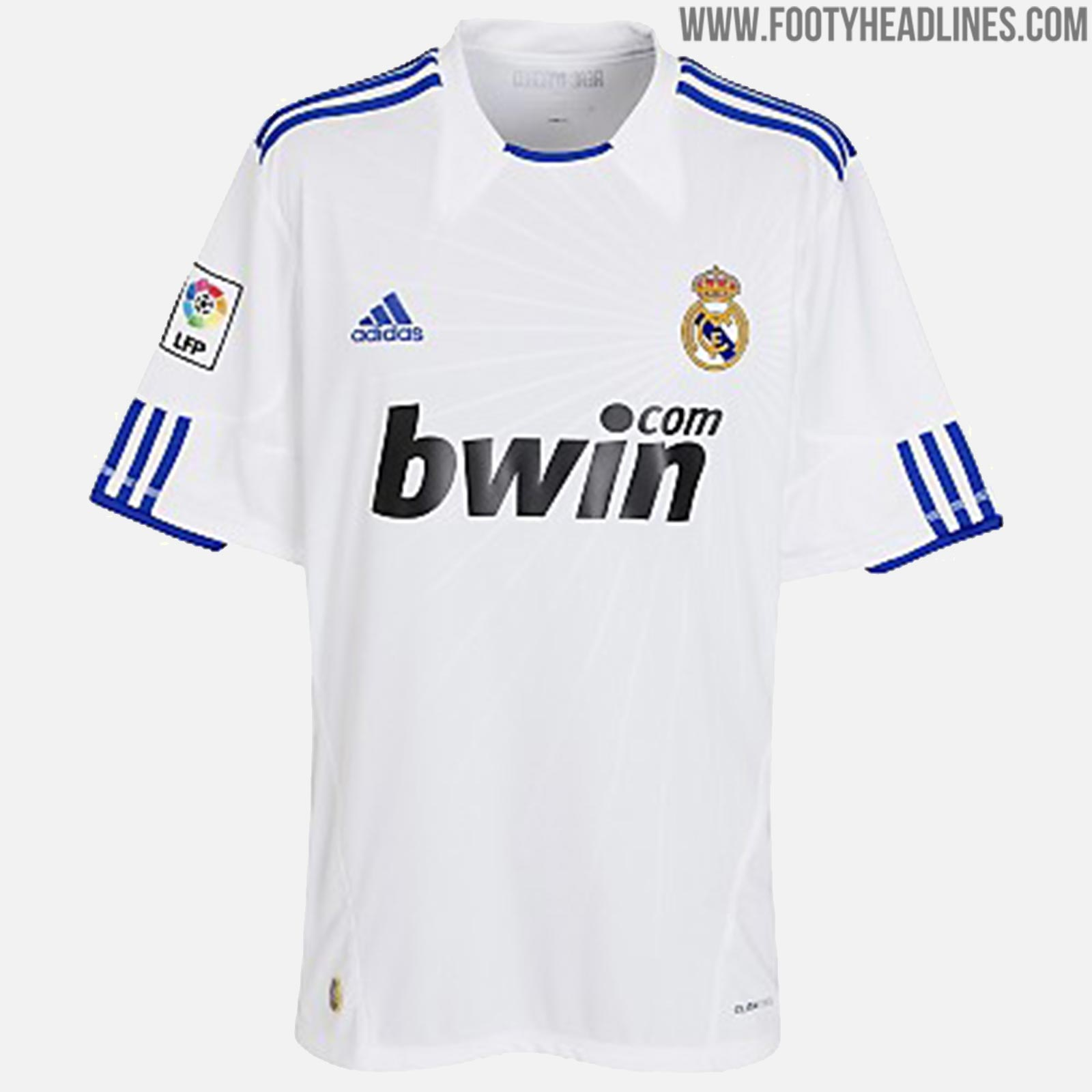 huge discount c94b7 4ae13 Here Are All Real Madrid Home Kits Of The Cristiano Ronaldo ...