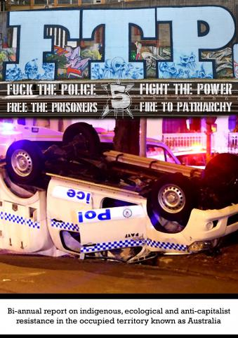 FTP Issue 5: Anarchist Anti-Colonialist Zine From Australia (Click On Photo To Download)