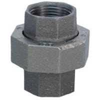black iron pipe union fitting high quality