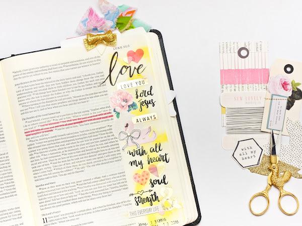 Crate Paper Design Team : Bible Journaling