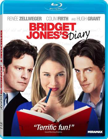 Poster Of Bridget Jones's Diary 2001 English 300MB BRRip 480p Free Download Watch Online