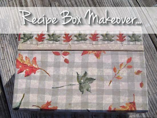 A Recipe Box Makeover