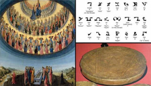 Enochian: Η μυστηριώδης χαμένη «Αγγελική Γλώσσα» (φωτό)