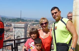 Los Viajes de Hector desde lo alto de la cúpula de Brunelleschi.