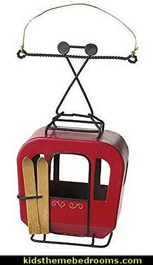 Metal Gondola Ornament