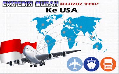JASA EKSPEDISI MURAH KURIR TOP KE USA