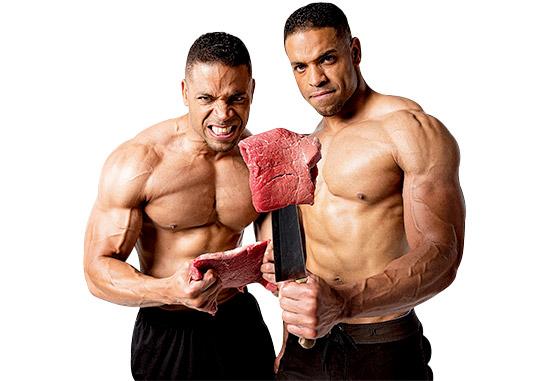 هل تناول اللحوم الحمراء كل يوم صحي لاعب كمال الأجسام؟