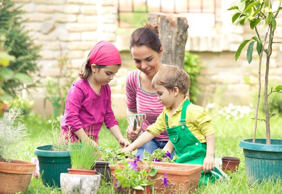 Berkebun Bersama Anak