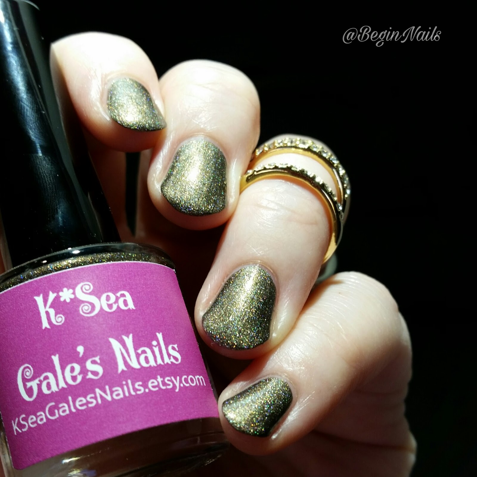 Let\'s Begin Nails: K*Sea Gale\'s Nails Holloween Collection Sample ...